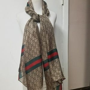 New Gucci Scarf.